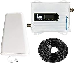 LCD GSM900MHz Amplificador de se/ñal de tel/éfono m/óvil Repetidor de se/ñal de tel/éfono celular Amplificador de se/ñal con antena de ventosa Amplificador de se/ñal,Baugger