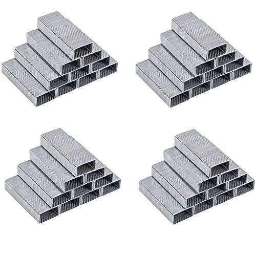 EFISH 4000 Stück No.10 Mini Heftklammern(kleiner als Standard Heftklammern)