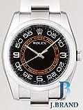 ROLEX(ロレックス) オイスターパーペチュアル 116000 ブラック オレンジサークル