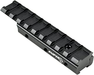 SNIPER Dovetail to Weaver Tactical Rail Base Mount 3/8