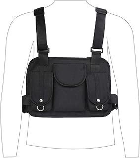 VOCUS Fashion Chest Rig Bag Sport Daypack Tactical Chest Rig for Men Women