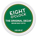 Eight O'Clock Coffee The Original Decaf, Single-Serve Coffee K-Cup Pods, Medium Roast, 96 Count