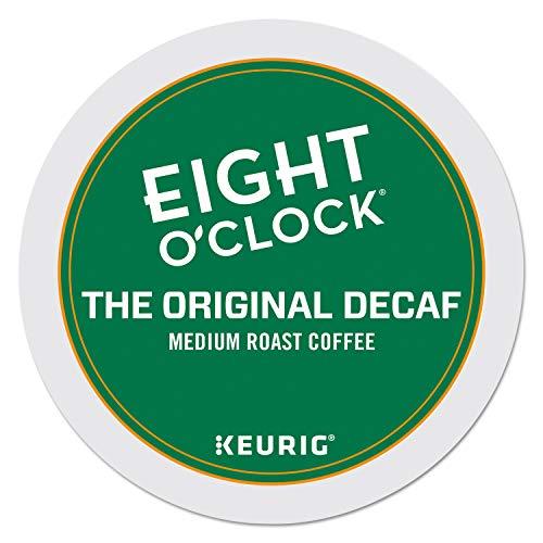 Eight O'Clock Coffee The Original Decaf, Single-Serve Coffee K-Cup Pods, Medium Roast, 96 Count