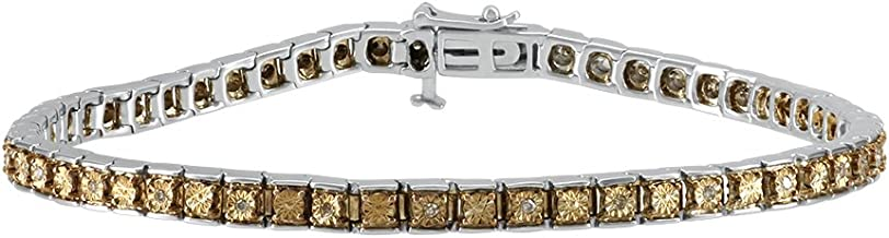 Best brown diamond tennis bracelet Reviews