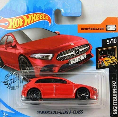 Hot.Wheels '19 Mercesdes-Benz A-Class - 1:64 - rot