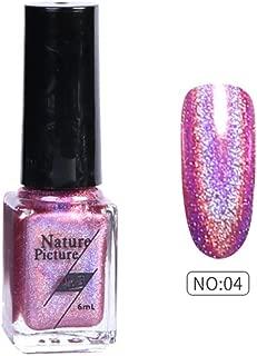 6ml Nail Polish Color Change Shimmer Nail Sequins Long Lasting Laser Nail Lacque