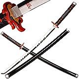 Sword Valley Espada de madera japonesa de Anime Samurai, de Demon, espada de madera de 103 cm, tanjirou
