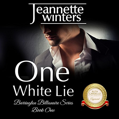 One White Lie  audiobook cover art