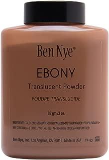 BEN NYE Ebony Classic Translucent Face Powder 3 Oz.