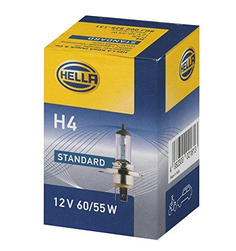 Hella 8GJ 002 525-131 Glühlampe - H4 - Standard - 12V/60/55W - P43t - Schachtel - Menge 1