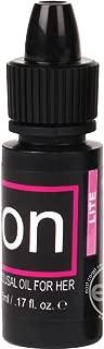 Sensuva On Natural Powerful Love Making Clitoral Stimualting Enhancing Arousal Oil Ultra Formula For Women Menthol Free 0.17 Oz Bottle