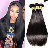 Brazilian Human Hair Bundles Straight£¬MSGEM 8A Remy Human Hair 3 Bundles 10 12 14 Unprocessed Virgin Brazilian Straight Hair Extensions
