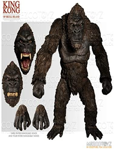 """Mezco Toyz MAY189235 King Kong of Skull Island PX Previews Exclusive 7/"""" Toys New"""