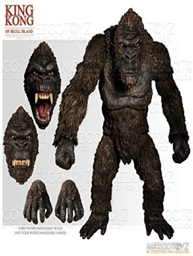 Figura King Kong 46 cm. Kong: La Isla Calavera. Mezco Toyz
