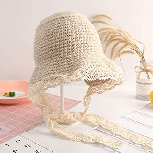 Vbtsqp Los Sombreros para niños Son súper Lindos en Verano, niños, Sombreros de Pescador, Padres e Hijos, niños pequeños, princesitas, Encajes, Sombreros de Paja, sombrilla