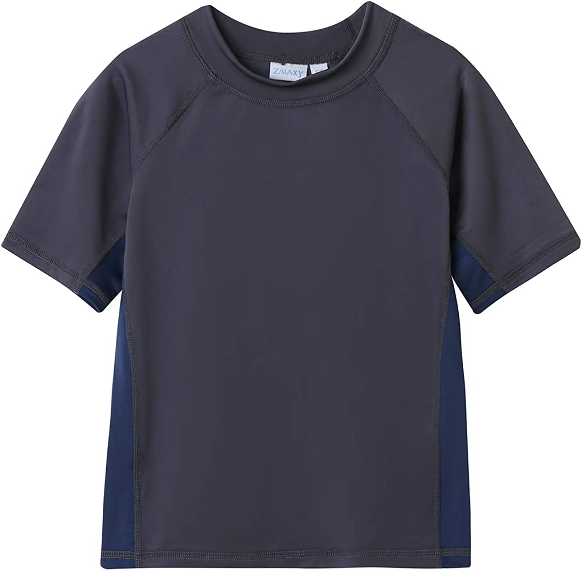 ZALAXY Boys' Short Sleeve Rashguard Washington Mall Shirt Swim 50+ Max 46% OFF UPF Kids