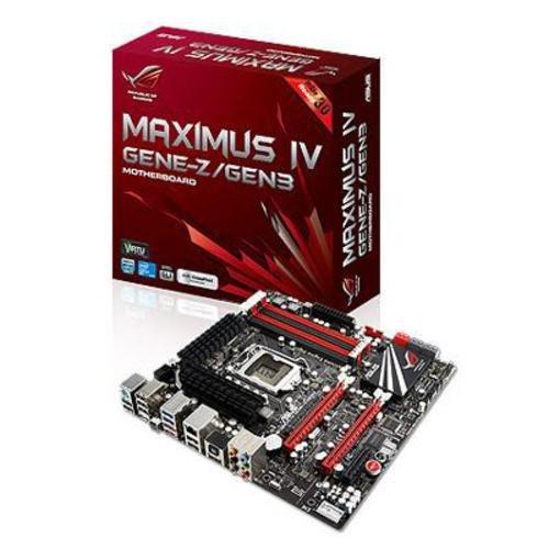 Asus Maximus IV Gene-Z/GEN3 Mainboard (Inte Z68, Micro-ATX, DDR3 Speicher, Sockel 1155)