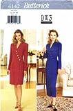 Butterick 4142 Sewing Pattern David Warren Dress Size 12 - 14 - 16
