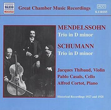 Mendelssohn / Schumann: Trios (Thibaud / Casals / Cortot) (1927-1928)