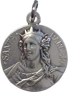 Medaglia di Santa Barbara - Patrona dei Vigili del Fuoco