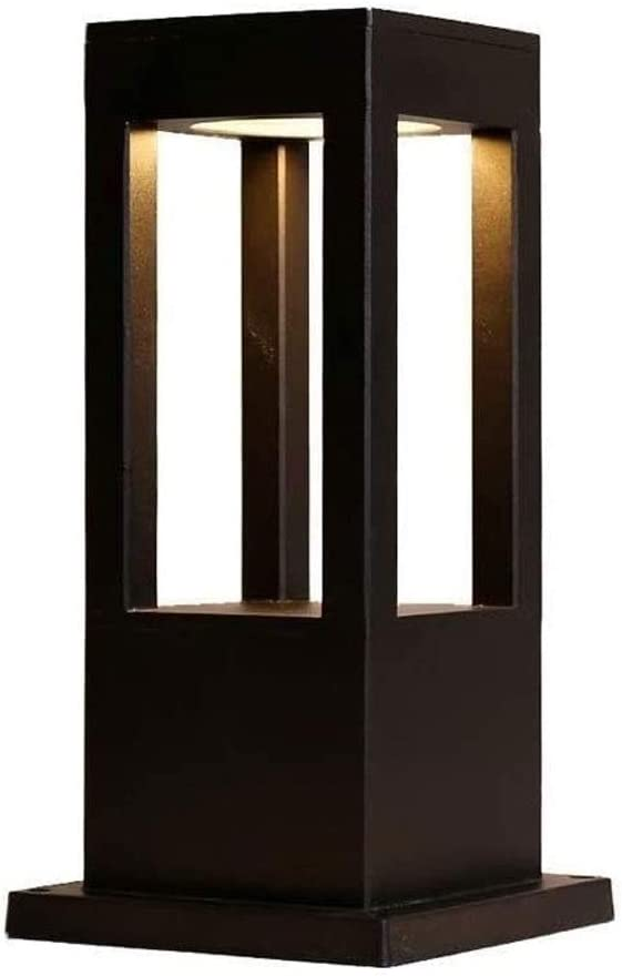 NARUJUBU Outdoor Garden Under blast sales Lawn LED Easy-to-use Post Die-cast Light Nordic Alum