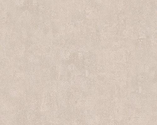 Metropolis by Michalsky Living Vliestapete Hollywood Tapete Unitapete 10,05 m x 0,53 m beige Made in Germany 304581 30458-1