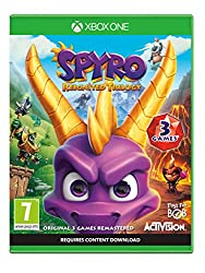 Rekindle the fire with remastered versions of the original three games, Spyro the Dragon, Spyro 2 Ripto's Rage! and Spyro Year of the Dragon The original roast master is back! Same sick burns, same smouldering attitude, now all scaled up in stunning ...