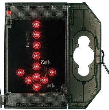 Lunartec Caractère spécial Lumineux à LED - Flèche Bas Rouge