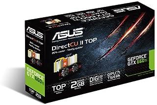 ASUSTeK NVIDIA GTX660Ti搭載グラフィックボード オリジナルFAN「DirectCuII」搭載OCモデル GTX660 TI-DC2-2GD5 【PCI-Express3.0】