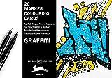 MCC Graffiti: Marker Colouring Card Books