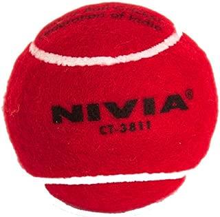 Cricket Tennis Balls (Red Balls Pack of 12)