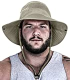 GearTOP Fishing Hat and Safari Cap with Sun Protection | Premium UPF...