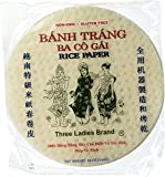 5 Packs Three Ladies Spring Roll Rice Paper ( Round 22 Cm )