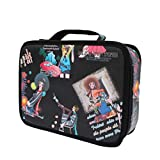 Beaupretty Hairdressing Bags Leather Barber Bag Hairdressing Tool Pouch Scissor Comb Storage Organizer Hair Stylist Suitcase Salon Kit Holder