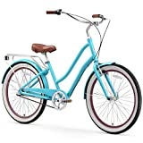 sixthreezero EVRYjourney Women's 3-Speed Step-Through Hybrid Cruiser Bicycle, 26' Wheels with 17.5'...