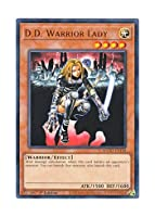 遊戯王 英語版 MAGO-EN110 D.D. Warrior Lady 異次元の女戦士 (レア:ゴールド) 1st Edition