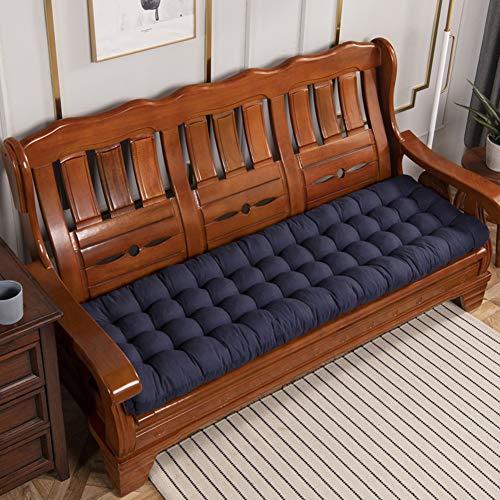 Cuscino per panca ultra comodo e resistente, antiscivolo, in cotone, comodo cuscino per panca da balcone, per interni ed esterni