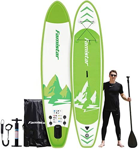 12 x32 x6 396lbs Capacity All Around Inflatable Stand Up Paddle Board Stable Versatile Durable product image