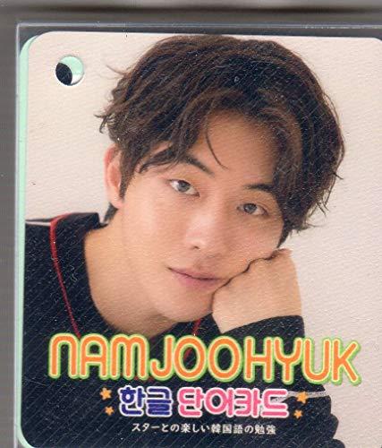 ナム・ジュヒョク (???) フォト ハングル 単語カード 63枚セット(画像変更あり)韓国俳優 ap03