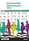Temario 1 Escala Auxiliar Administrativa Universidad Complutense de Madrid