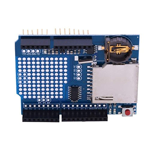 DollaTek Registratore Data Logger Modulo Shield XD-204 per Arduino Uno SD Card Professional