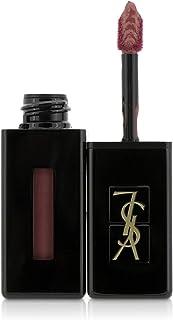 Yves Saint Laurent Vinyl Cream Lip Stain 407 Carmin Session for Women, 0.18 oz Lip Gloss, 5.4 milliliters