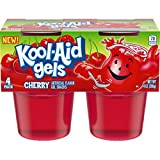 Cherry flavor 84 Ounces Jell-O Kool-Aid Cherry Gels Gelatin country_string: United States