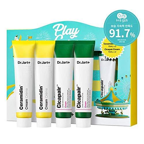 Dr.Jart Holiday Fantasy Cream Set Total 60ml/2.04fl.oz. (New Ceramidin Cream 15ml/0.51fl.oz. X 2ea & Cicapair Cream 15ml/0.51fl.oz. X 2ea)