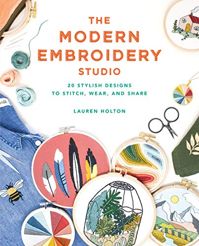 Review Of The Modern Embroidery Studio: 20 Stylish Designs to Stitch, Wear, and Share