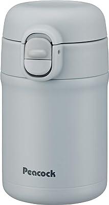 ピーコック 水筒 ワンタッチ給水ボトル 280ml ペールブルー AKH-28 A