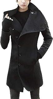 Cappotto Invernale da Uomo Cappotto Invernale da Uomo Cappotto Abbigliamento Invernale Vintage Lungo Tratto Giacca Lunga d...
