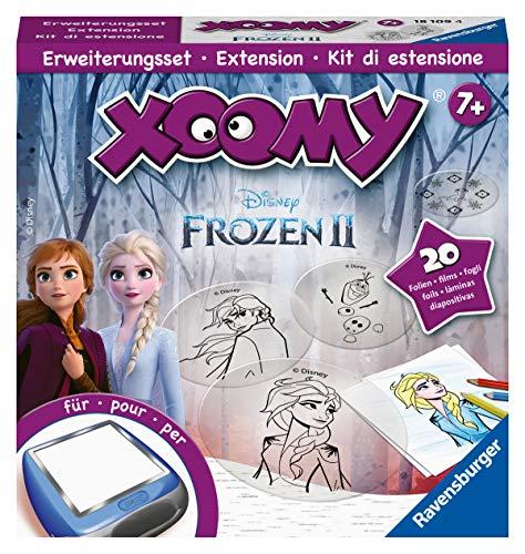 """Ravensburger Xoomy Erweiterungsset Frozen 2 18109 - Comics und die berühmten Figuren aus \""""die Eiskönigin 2\"""" Zeichnen lernen, Kreatives Zeichnen und Malen für Kinder ab 7 Jahren"""