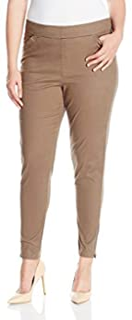 LEE Women's Plus Size Modern Series Midrise Fit Annika Tapered Leg Pant, Falcon, 20W/Medium
