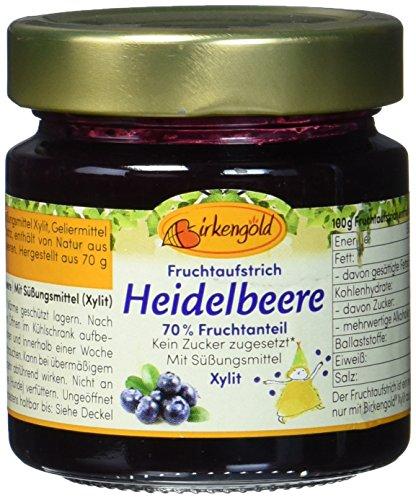 Birkengold Fruchtaufstrich Heidelbeer (1 x 200 g)